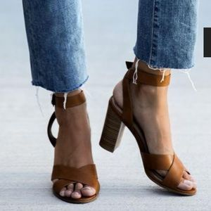 Shoes - Socrates Strappy Heeled Sandal